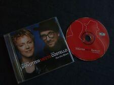 ANNE SOFIE VON OTTER MEETS ELVIS COSTELLO FOR THE STARS RARE CD!