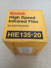 1 UNOPENED ROLL OF KODAK High Speed INFRARED HIE 135-20  FILM Vintage 1973 5A