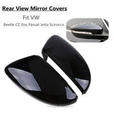 L & R Rear Door Wing Mirror Cover Cap For VW Beetle CC Eos Passat Jetta Scirocco