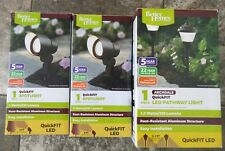 Better Homes & Gardens - QuickFIT LED 1 Archdale Pathway & 2 Spot Lights - NEW!