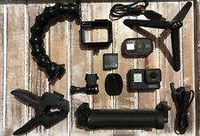 GoPro Hero7 Black CHDHX-701+Smart Remote+3-Way Arm+Jaws Flex Clamp+64GB Card