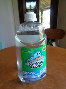 Scrubbing Bubbles Automatic Shower Cleaner Refill Glade Refreshing Spa 34 oz New