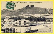 CPA France 89 - SENS en 1908 ERMITAGE SAINT BON Le BARRAGE et nouveau ROBINSON