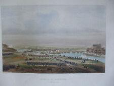 gravure originale napoleon  montereau  vers 1850 yung  rouargue