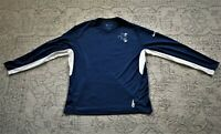 Nike Indianapolis Colts - Blue White Dri-Fit Long Sleeve (Bucking Horse) Shirt