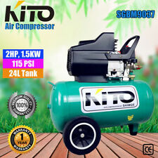 KITO INDUSTRIAL AIR COMPRESSOR 24L 2HP, 1.5KW ELECTRICAL MOTOR