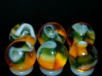 SIX PACK  Jabo Classic Marbles Collector Set  HTF Marble KEEPERS Lot 350
