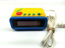 Vintage Crayola Alarm Clock Model 1205 by Spartus, Works - 1993