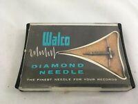 New NOS Vintage WALCO W-182STDS Diamond Record Player Needle Phonograph Stylus