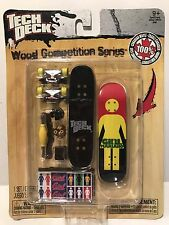 Tech Deck WOOD COMPETITION SERIES Girl Mariano Finger Board NIP