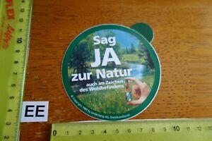 Alter Aufkleber Spirituosen Magenbitter UNDERBERG 1989 Dietikon Schweiz