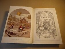 THE LEISURE HOUR - 1869 Hardback Book - Family Journal of Instruction...