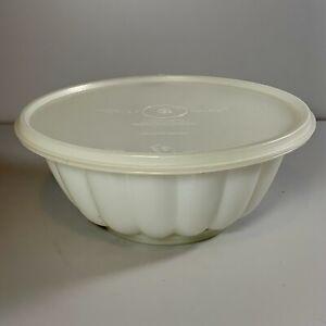 VINTAGE RETRO Clear Tupperware Jel n Serve Jelly Mould Dessert Bowl Star Top