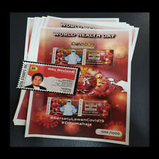 PANDEMIC GLOBAL 2020 MINI SHEET WORLD HEALTH DAY - FIGHT THE VIRUS STAMPS - MNH