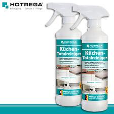 Hotrega 2 x 500 ml Küchen Totalreiniger Premium Allzweck Fettlöser Herd Ofen