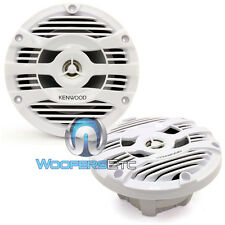 "KENWOOD KFC-1653MRW 6.5"" 2-WAY MARINE BOAT AUDIO 300W MAX COAXIAL SPEAKERS NEW"