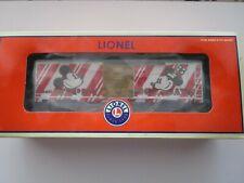 Lionel Disney Christmas Boxcar NIB - LTD ED of 500 - 6-25065