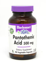 Pantothenic Acid 500mg Bluebonnet 90 VegCaps
