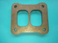12mm T4 Divided Turbo Inlet Flange Plate.13B 20B LS1 LS6 RB20 RB26 RB30 2JZ 3RZ