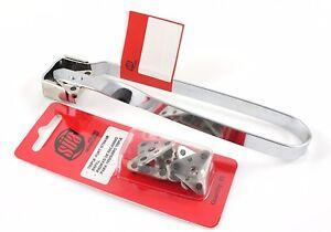 Triple Flint Torch Striker / Spark Lighter  + Replacement Flints (5 pkg) - SÜA