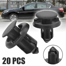 20pcs Plastic Retainer Bumper Rivet Trim Clip 8mm&10mm For Honda Civic Accord
