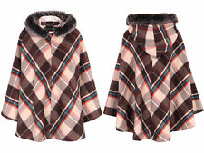 Zip Check Cropped Outdoor Coats & Jackets for Women