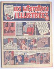LES HISTOIRES ILLUSTREES n°2 mai 1954 BD hebdo 16 pp TBE Puits-Pelu Lyon