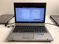 HP EliteBook 2560p 12.5in. Core i5-2540M @ 2.60GHz   4GB RAM   NO HDD   #523