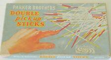 Vintage 1960s Parker Brothers WOOD Double Pick Up Sticks Game ©1961 Austria