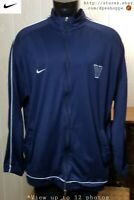 NCAA Villanova Wildcats Warm Up Court Track Jacket Nike Team Issued #12 Sz XXL