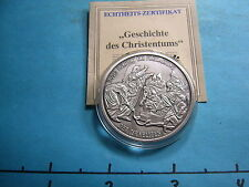 MOSES RELEASE ISRAELITE HISTORY CHRISTIANITY SPECIAL GERMAN ISSUE 999 SILVER #5