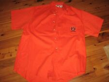 MENS AUBURN WAR EAGLE GAME DAY CASUAL SHIRT LARGE BUTTON DOWN EMBROIDERED