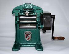 landis Leather splitter skiver sewing machine cobbler tools hand crank antique