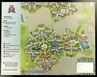 NEW 2021 Walt Disney World All Star Music Resort + 4 Theme Park Guide Maps !!!!!