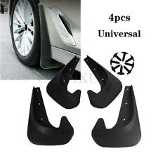 4Pc Mud Flaps Universal Splash Guards Fit For Front & Rear Includes Hardware New