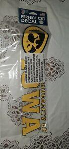 NWT University of Iowa Decal - Hawkeye