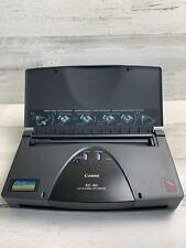 Canon BJC-80 Color Bubble Inkjet Printer Used Good
