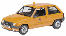 "Schuco Volkswagen Opel Corsa A "" City nϋrnberg "" Orange, 1:43 Item 03413"