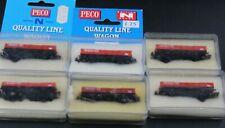 PECO x6  RAILFREIGHT OBA WAGONS UP2.17