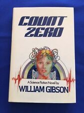 COUNT ZERO - FIRST AMERICAN EDITION BY WILLIAM GIBSON