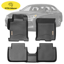 For 2013-2017 13 14 15 16 17 Honda Accord Sedan Floor Mat FloorLiner Set Black