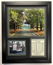 Legends Never Die Augusta National Golf Course Magnolia Lane Framed 8x10 Photo