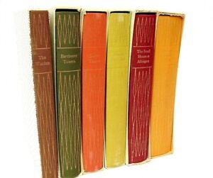 The Barsetshire Chronicles 6 Hardback Books Anthony Trollope Folio Society 1977