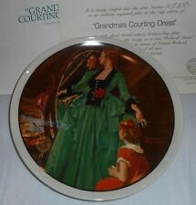 1984 Mothers Day 9th Series Grandma's Dress Norman Rockwell Collector Plate