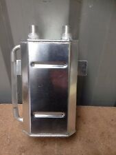 2 litre alloy oil catch tank, breather tank, Pinto X-flow, race rally RS EP-0138