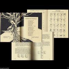 Sammlerstück Runen Lehrbuch Runen Orakel Runen Runenlegen Runenbuch Odin