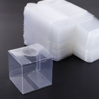"""20X Candy Clear Box 2""""x2""""x2"""" Gift Wedding Favor Transparent Wrap Bags Square Box"""