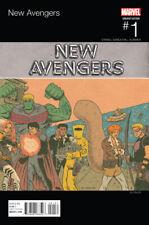 NEW AVENGERS #1, PISKOR HIP HOP VARIANT, New, First Print, Marvel Comics (2015)