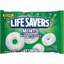 Life Savers Mints Wint O Green Hard Candy Individually Wrapped  13 oz bag