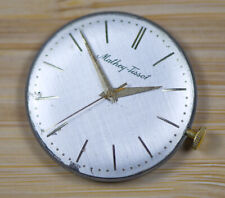Vintage MATHEY TISSOT Manual Wind 704 Watch Movement Dial Hands NEEDS SERVICE